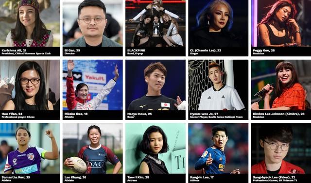 LMHT: Faker chung mâm cùng Black Pink trong danh sách những người trẻ có tầm ảnh hưởng nhất châu Á - Ảnh 2.