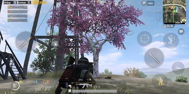 Game thủ PUBG Mobile có thể nhận đồ 3, súng thính khi tưới cây hoa anh đào ở bản 0.12 - Ảnh 2.