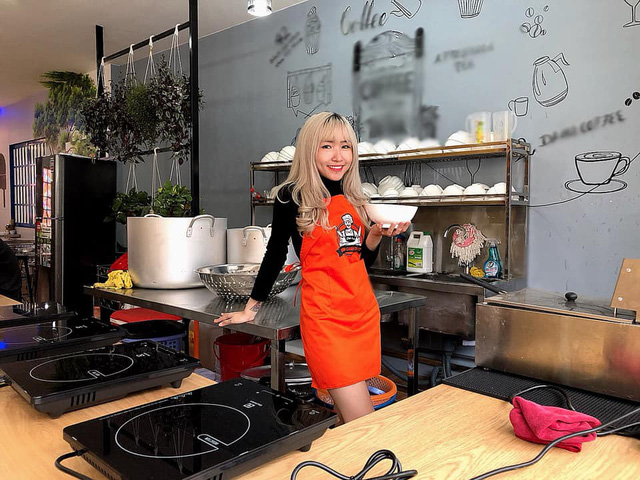 Tiếp bước đàn anh, quán ăn Bánh Canh của nữ streamer xinh đẹp Uyên Pu đã chính thức mở cửa - Ảnh 5.