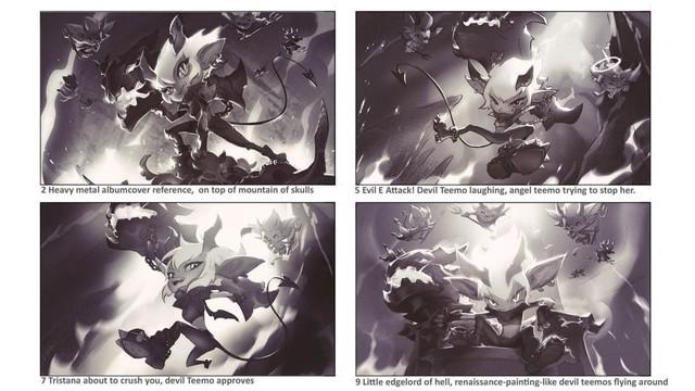 LMHT: Riot nhá hàng trang phục Tristana Tiểu Quỷ đẹp mê hồn khiến cộng đồng sục sôi thèm khát - Ảnh 5.