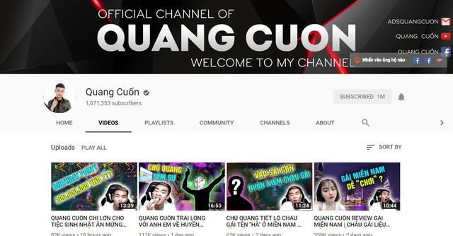 Quang Cuốn đón sinh nhật hoành tráng mừng 1 triệu Sub Youtube bên gia đình và dàn khách mời siêu khủng - Ảnh 1.