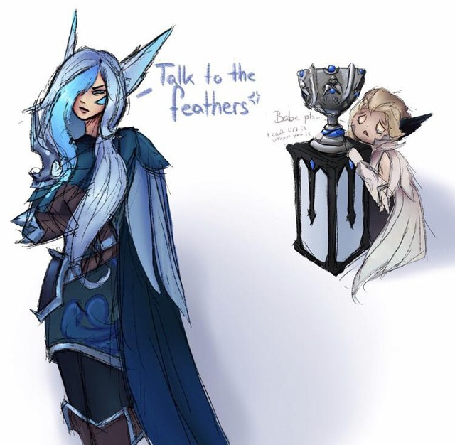 LMHT: Riot cố tình lờ đi trang phục vô địch của Xayah, fan dỗi tự thiết kế skin đẹp mê hồn - Ảnh 2.