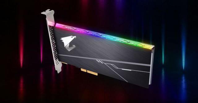 Gigabyte giới thiệu mẫu SSD vừa đẹp tuyệt vời vừa nhanh chóng mặt chuyên dụng cho game thủ - Ảnh 1.