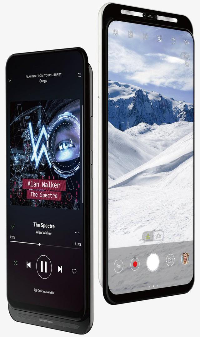 Hé lộ nguyên mẫu smartphone 5G của ASUS, trượt 2 chiều, màn hình không khiếm khuyết - Ảnh 1.