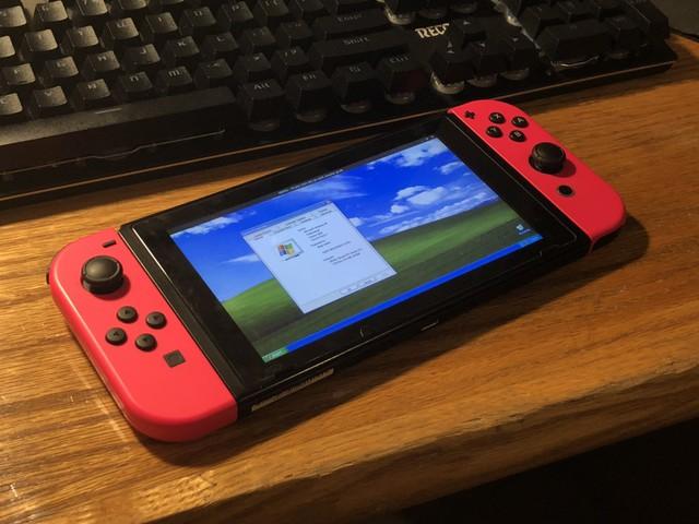 Nintendo Switch có thể cài được cả Windows XP, chơi được game Pinball 3D luôn - Ảnh 1.