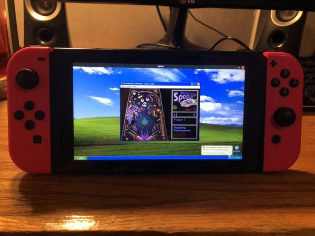 Nintendo Switch có thể cài được cả Windows XP, chơi được game Pinball 3D luôn - Ảnh 2.