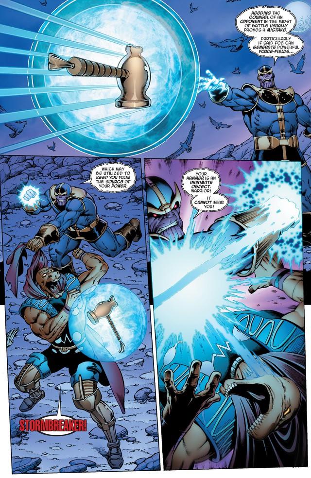 Avengers: Endgame - Liệu Cây rìu Stormbreaker của Thor có mạnh hơn Găng tay Vô Cực của Thanos? - Ảnh 2.