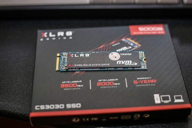 Trải nghiệm PNY XLR8 CS 3030 500GB: SSD nhanh chóng mặt, giá thành lại phải chăng tuyệt vời cho game thủ - Ảnh 2.
