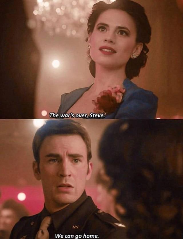 Biên kịch của Avengers: Endgame tiết lộ rằng Steve Rogers chính là cha hai đứa con của Peggy Carter - Ảnh 2.