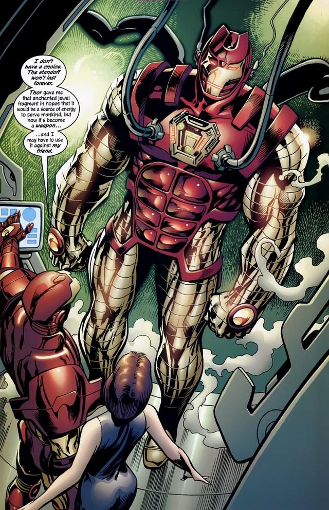 8 bộ giáp cực mạnh mà Iron Man từng chế tạo để... bóp đồng đội khi cần - Ảnh 3.