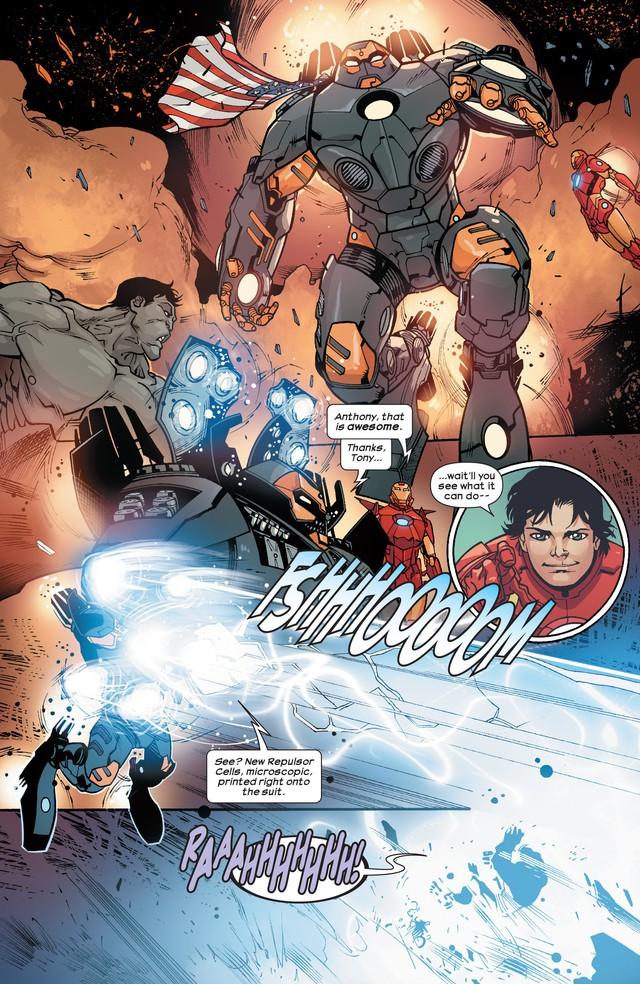 8 bộ giáp cực mạnh mà Iron Man từng chế tạo để... bóp đồng đội khi cần - Ảnh 15.