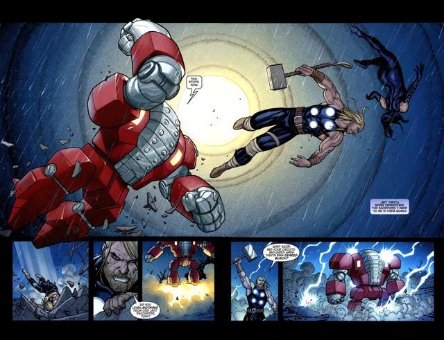 8 bộ giáp cực mạnh mà Iron Man từng chế tạo để... bóp đồng đội khi cần - Ảnh 14.
