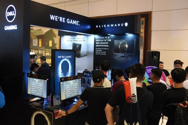 Hóa ra toàn bộ giải MSI 2019 đều sử dụng màn hình, máy tính chiến game xịn xò của Dell Alienware - Ảnh 4.