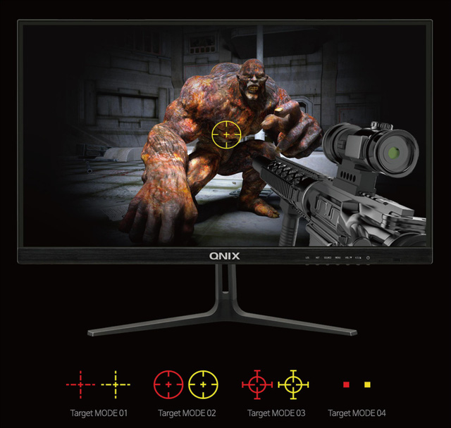 QNIX - Màn hình chuyên game đến từ Hàn Quốc bất ngờ về Việt Nam, quá ngọt cho game thủ - Ảnh 4.