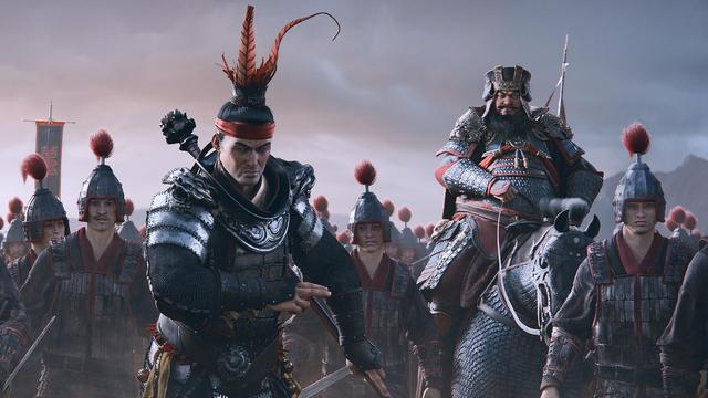 Total War: Three Kingdoms - Chiến thần Lữ Bố một mình chống lại 2,000 dễ như ăn cháo - Ảnh 1.