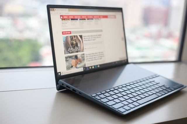 Cận cảnh Asus Zenbook Pro Duo - Laptop 2 màn hình 4K đầu tiên trên thế giới - Ảnh 6.