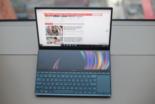 Cận cảnh Asus Zenbook Pro Duo - Laptop 2 màn hình 4K đầu tiên trên thế giới - Ảnh 4.