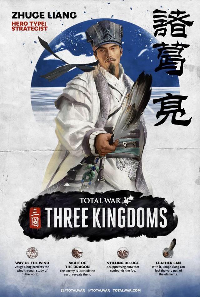 [Total War: Three Kingdoms] Tìm hiểu về sức mạnh của bộ ba Tư Mã Ý, Gia Cát Lượng, Chu Du - Ảnh 1.
