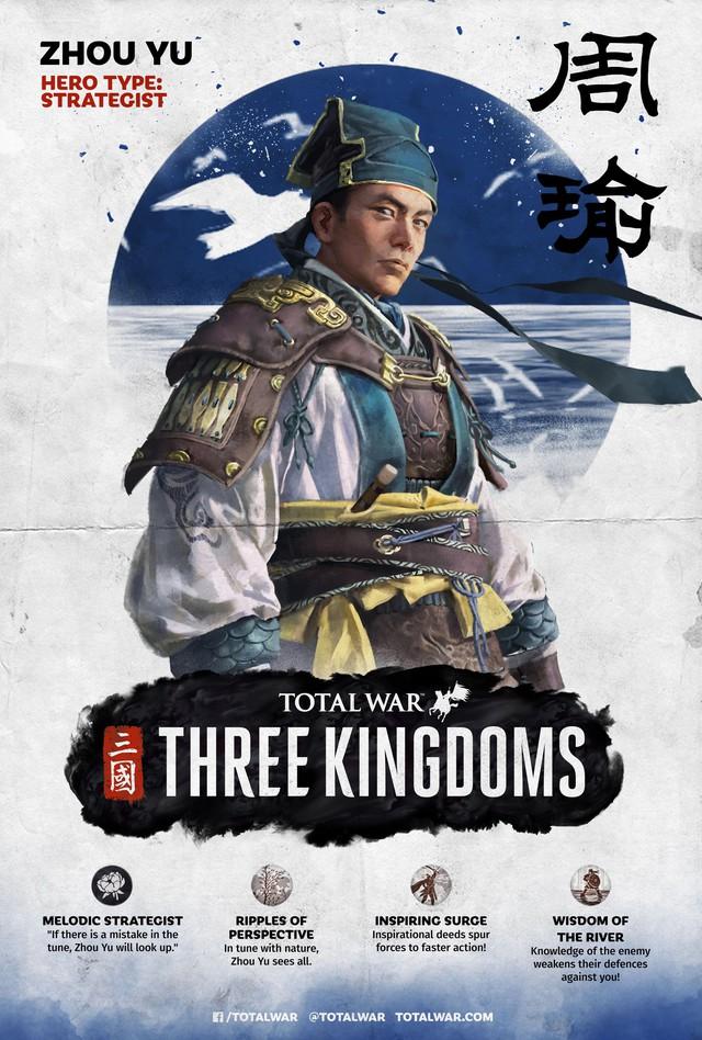 [Total War: Three Kingdoms] Tìm hiểu về sức mạnh của bộ ba Tư Mã Ý, Gia Cát Lượng, Chu Du - Ảnh 3.