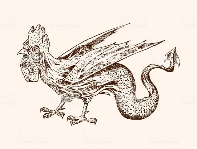 Basilisk: Con quái vật giết người chỉ bằng một ánh nhìn - Ảnh 4.