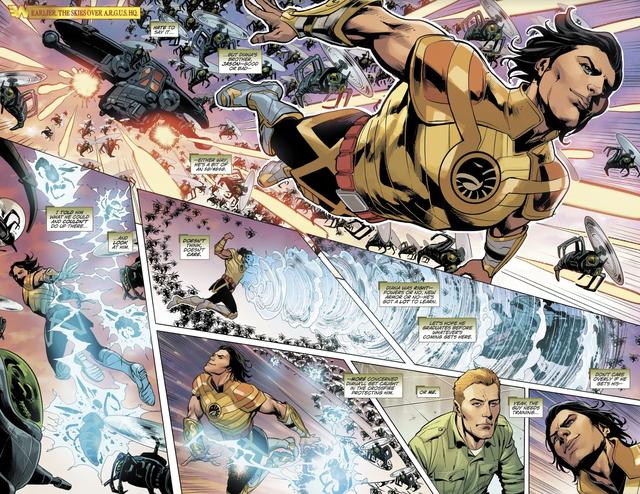 Jason, người em trai song sinh của Wonder Woman sở hữu sức mạnh bá đạo như thế nào? - Ảnh 1.