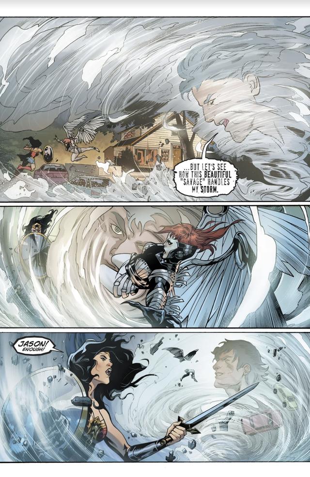 Jason, người em trai song sinh của Wonder Woman sở hữu sức mạnh bá đạo như thế nào? - Ảnh 5.