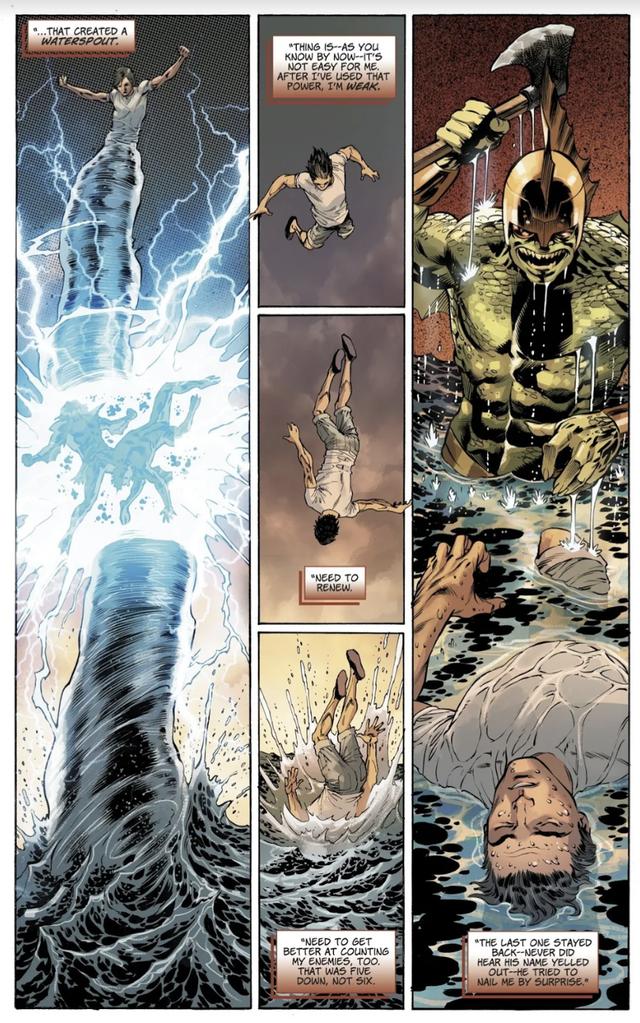 Jason, người em trai song sinh của Wonder Woman sở hữu sức mạnh bá đạo như thế nào? - Ảnh 7.