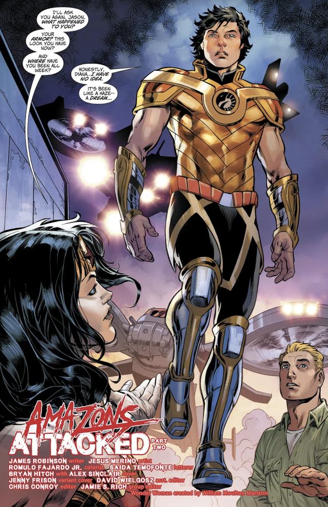 Jason, người em trai song sinh của Wonder Woman sở hữu sức mạnh bá đạo như thế nào? - Ảnh 9.