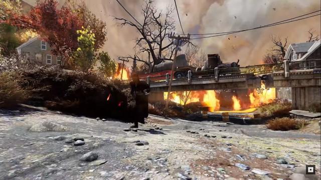 Game hậu tận thế Fallout 76 giới thiệu phần chơi sinh tồn 1 vs 52 - Ảnh 4.