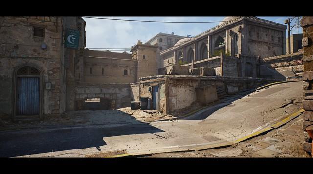 Ngỡ ngàng trước vẻ đẹp của map huyền thoại CS: De_Dust 2 khi được làm lại với Unreal Engine 4 - Ảnh 2.