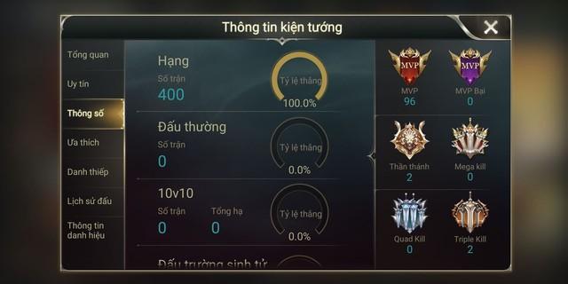 Liên Quân Mobile: Garena bó tay với gian lận, Top Thách Đấu làm chuỗi 400 trận thắng siêu dễ - Ảnh 4.