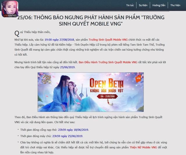 Thêm một game mobile Việt Nam ra đi mãi mãi vào đầu mùa Hè - Ảnh 2.