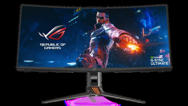 Asus giới thiệu màn hình gaming siêu to khổng lồ ROG Swift PG35VQ ai nhìn cũng phải mê mệt - Ảnh 1.