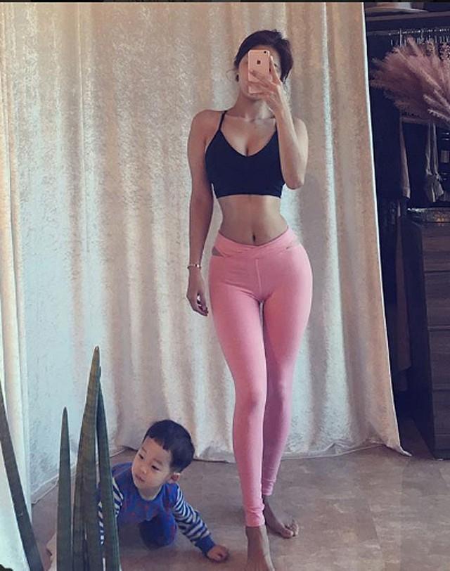Ngắm nhìn vẻ gợi cảm của bà mẹ một con nóng bỏng nhất trên Instagram Hàn Quốc - Ảnh 16.