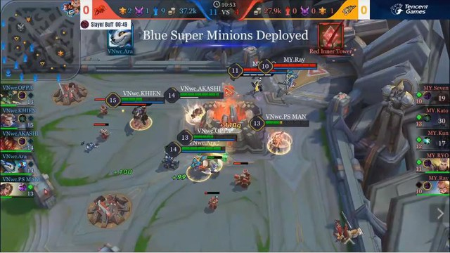Liên Quân Mobile: M8HEXA quá yếu, BOX Gaming thử nghiệm Rừng đi lane, lane đi Rừng để rồi thua - Ảnh 1.