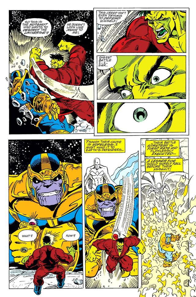 Nếu chỉ đọ vể sức mạnh, liệu Hulk có cửa ăn được Thanos không? - Ảnh 1.