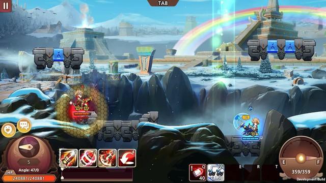 New Gunbound - Game mobile bắn súng canh tọa độ sở hữu cơ chế thời gian thực mở đăng ký - Ảnh 2.
