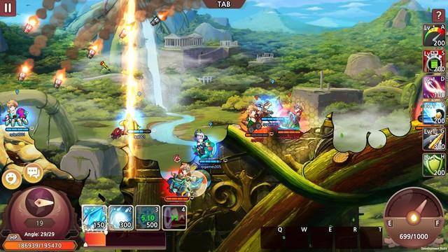 New Gunbound - Game mobile bắn súng canh tọa độ sở hữu cơ chế thời gian thực mở đăng ký - Ảnh 1.