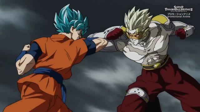 Super Dragon Ball Heroes tập 13: Goku gục ngã khi đối đầu với Super Hearts cho dù đã hóa Super Saiyan Blue - Ảnh 2.