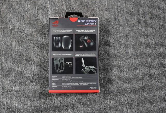 Trên tay Asus ROG Strix Carry - Chuột gaming nhỏ bé gọn nhẹ mang đi đâu cũng không sợ vướng - Ảnh 2.