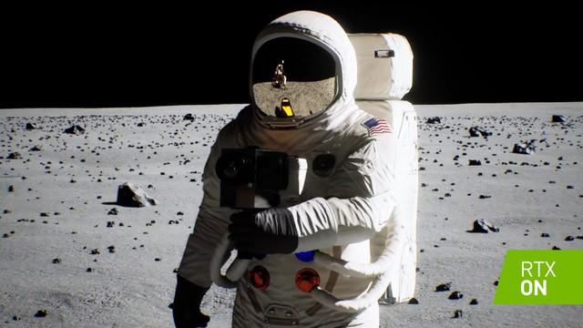 Ngắm video đổ bộ mặt trăng được độ lại bởi Ray Tracing trên card Nvidia RTX: Đẹp hơn bản gốc cả ngàn lần - Ảnh 1.