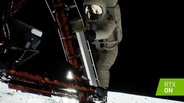 Ngắm video đổ bộ mặt trăng được độ lại bởi Ray Tracing trên card Nvidia RTX: Đẹp hơn bản gốc cả ngàn lần - Ảnh 2.