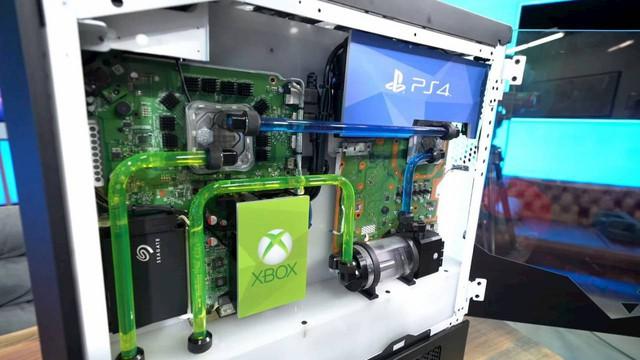 Xuất hiện cỗ máy chơi game khủng nhất mọi thời đại: Tích hợp PC, Xbox One, PS4 và Nintendo Switch vào chung một hệ thống - Ảnh 1.