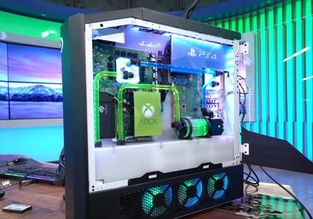 Xuất hiện cỗ máy chơi game khủng nhất mọi thời đại: Tích hợp PC, Xbox One, PS4 và Nintendo Switch vào chung một hệ thống - Ảnh 3.