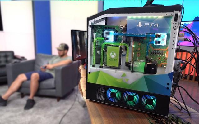 Xuất hiện cỗ máy chơi game khủng nhất mọi thời đại: Tích hợp PC, Xbox One, PS4 và Nintendo Switch vào chung một hệ thống - Ảnh 5.