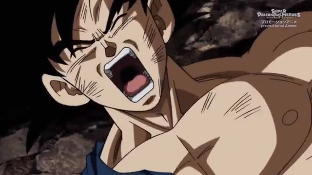 Super Dragon Ball Heroes tập 14: Bị đánh bại, Goku thức tỉnh bản năng vô cực để chống lại Hearts lần nữa - Ảnh 1.