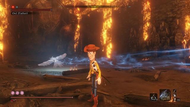 Nhân vật chính của Toy Story bất ngờ đóng vai người hùng trong Sekiro: Shadow Die Twice - Ảnh 1.