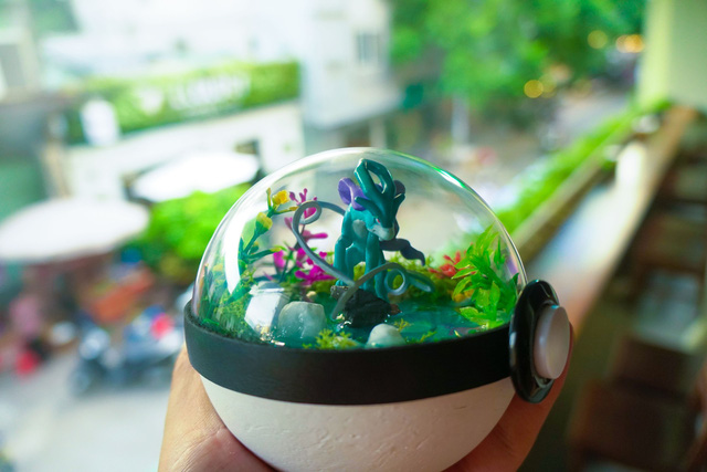 PokeCraft: Những trái Pokeball đẹp lung linh của nhóm bạn trẻ Việt yêu Pokemon - Ảnh 12.