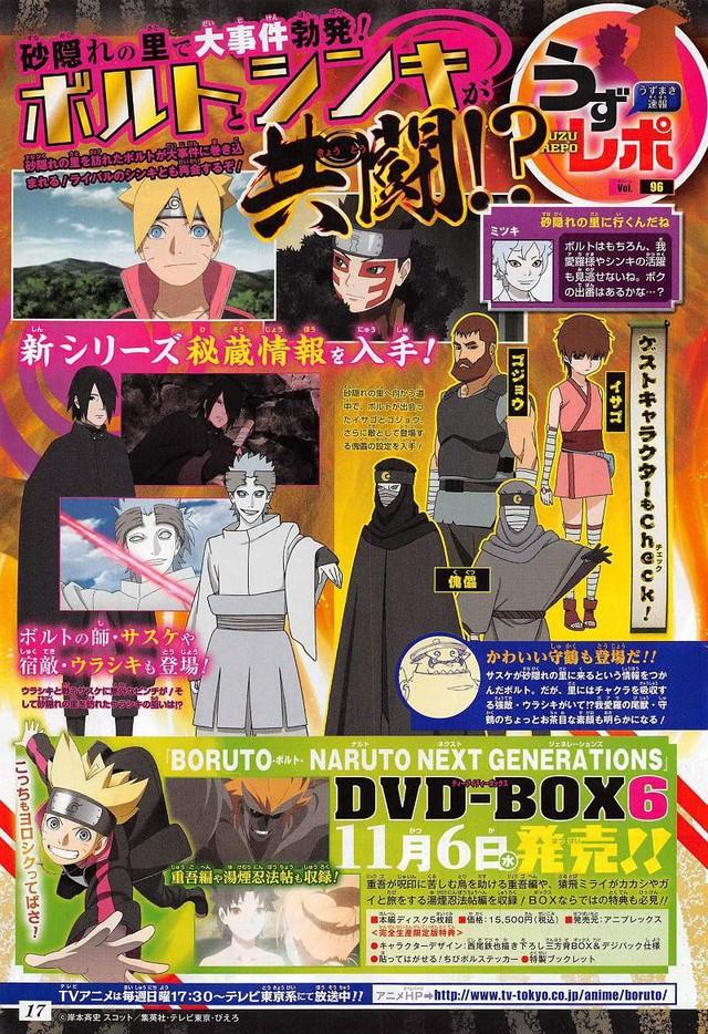 Boruto tập 119 - 120 tóm tắt: Sasuke vạch trần âm mưu của Urashiki Otsutsuki ở làng Cát - Ảnh 3.