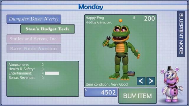 Game kinh dị nhưng cố làm kiểu vui vẻ Five Nights at Freddy's: Pizzeria Simulator đã mở cửa - Ảnh 3.